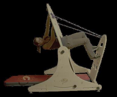 Übung: schweres Krafttraining durch waagerechtes Training im BoulderBow